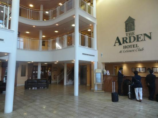 Arden Hotel & Leisure Club: Lobby / Check-in