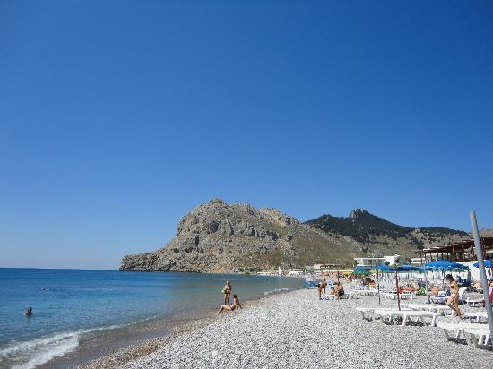 Alfa Beach Hotel: Strand