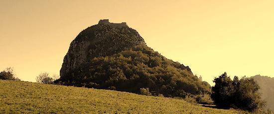 Hotel Costes: Le pog et château de Montségur