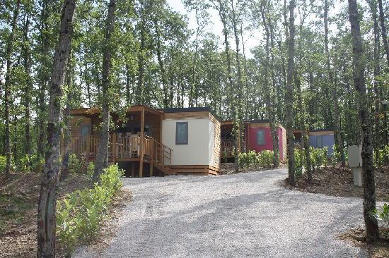 Camping Orlando in Chianti: cottage next