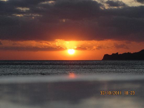 Gioma Taverna: Sunset from Gioma