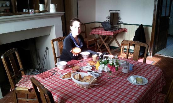 Relais Golf et Champagne: breakfast