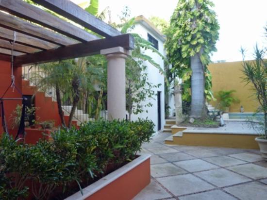 Luz En Yucatan: パティオ