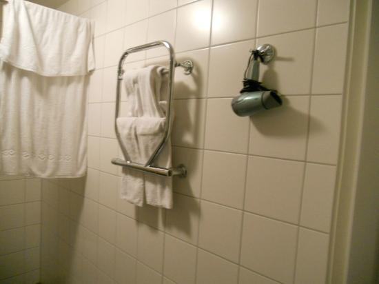 Clarion Collection Hotel Odin: a real hairdryer and heated towel rack