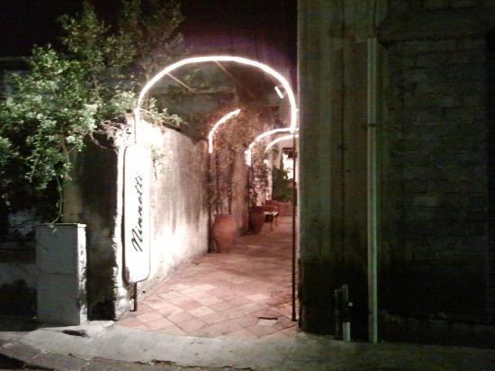 Ninnetti : L'ingresso principale