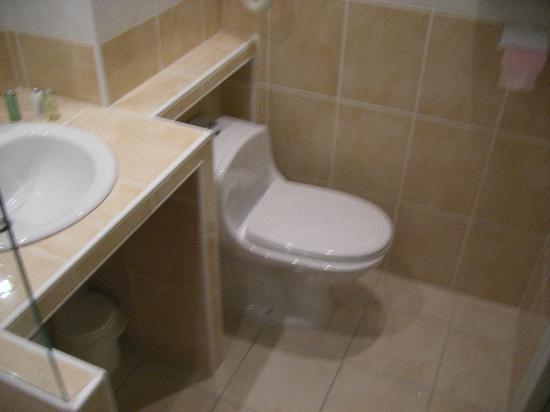 Aigue Marine Hotel : in the bathroom