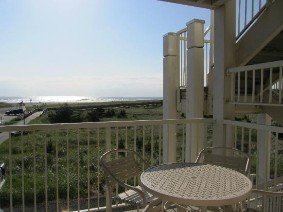 Worldmark Long Beach : view from the balcony