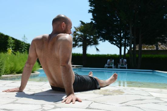 Domaine Du Manoir: pool