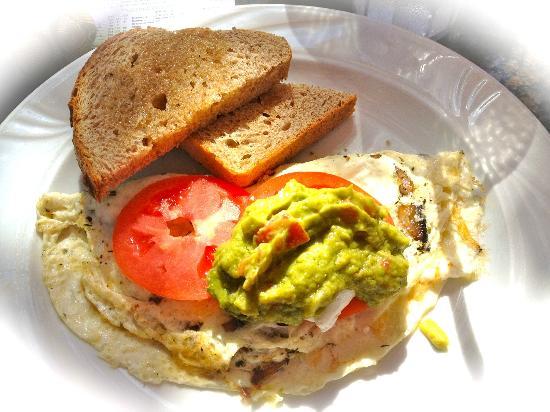 Sun Garden Cafe : Flower Child Omelet