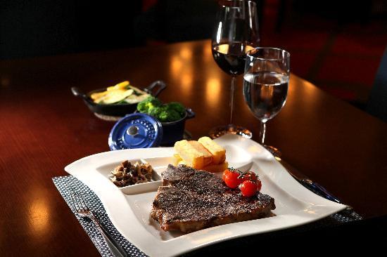 Blue Grill steak