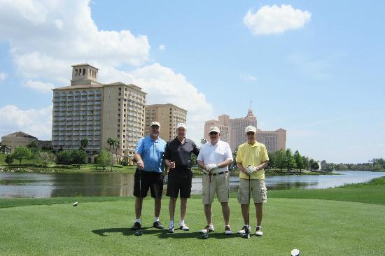 The Ritz-Carlton Golf Club, Orlando, Grande Lakes: #18 @ Ritz Carlton