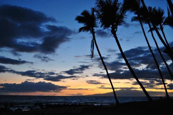 Mana Kai Maui: tramonto in spiaggia