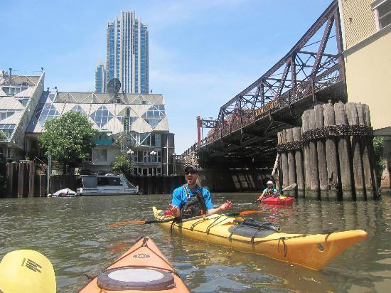 Kayak Chicago : Our main tour guide Todd