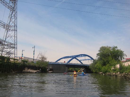 Kayak Chicago : Kayaking back