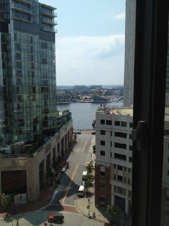 Hilton Garden Inn Baltimore Inner Harbor: loved the view from our 12th floor corner room!