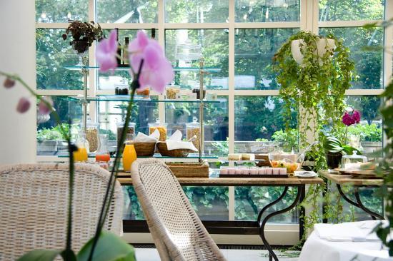 Patrick Hellmann Schlosshotel : Breakfast