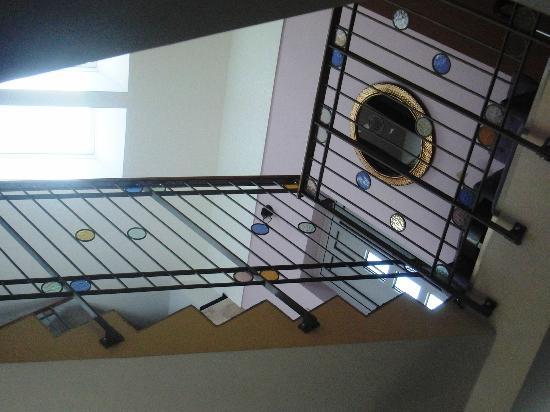 Hotel 365: escalier
