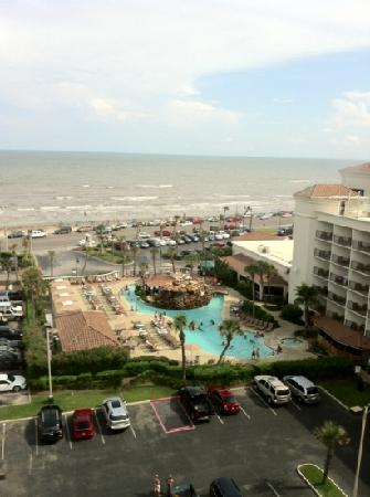 Hilton Galveston Island Resort: View from our 8th floor room.