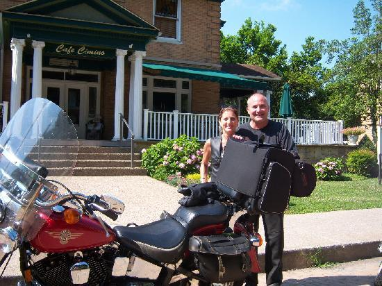Cafe Cimino Country Inn: have a great ride today!