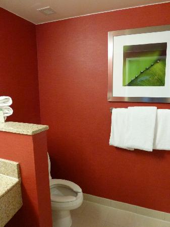 Courtyard by Marriott Stamford Downtown : toilet