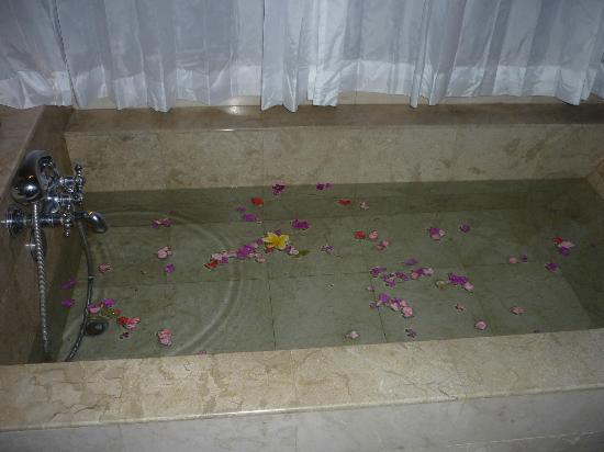 Alam Shanti: The marble bath - Shindu room