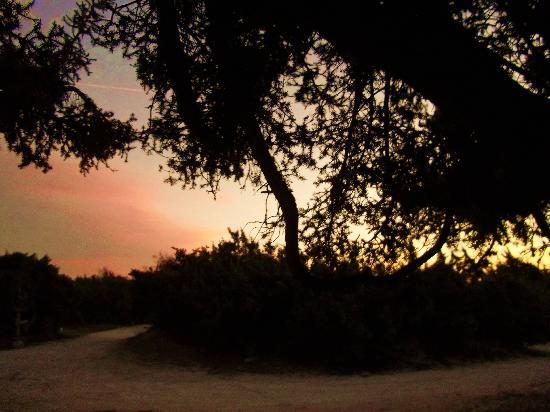 Surfing Beach Village: πριν πέσει η νύχτα