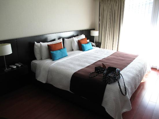 The Glu Hotel : Our room