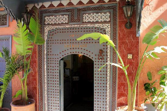Hotel Sherazade: Hotel entrance