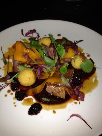 Downstairs Restaurant and Bar: Duck main course