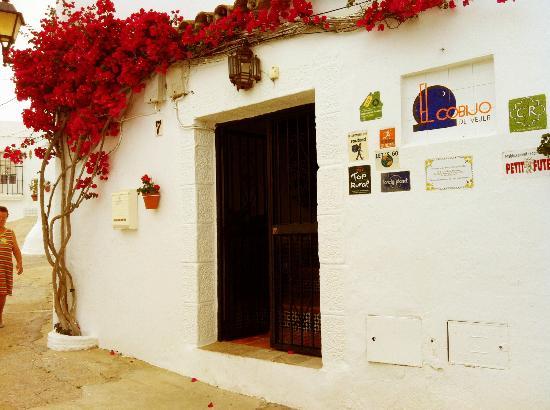 El Cobijo de Vejer: Arrivée au El Cobijo