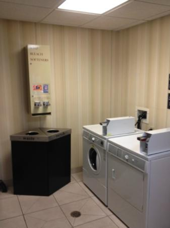 Hampton Inn San Francisco - Daly City: Laundry area by the elevator on 2nd floor