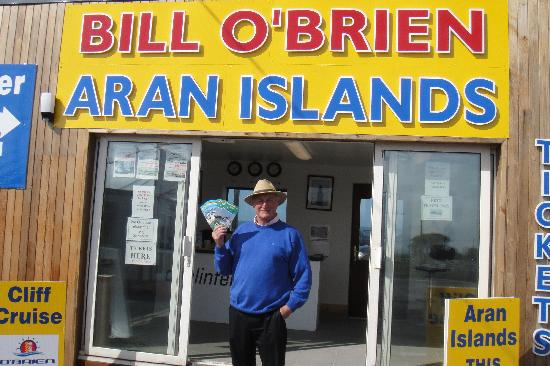 Doolin Ferry: Bill O'Brien Himself!