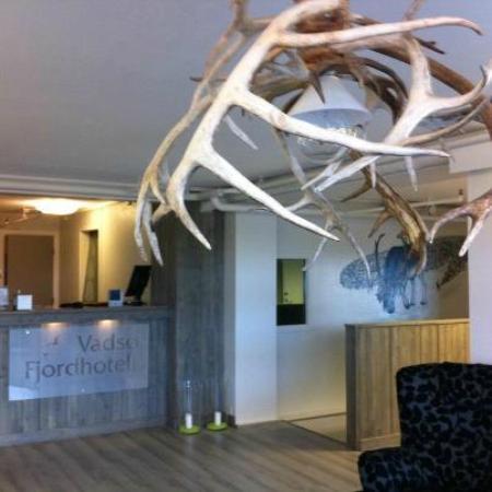 Vadsø, Norge: front desk