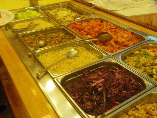 Xaine Park Hotel: Salatbuffet