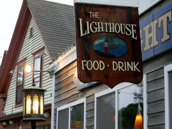 Lighthouse Restaurant: Entrance