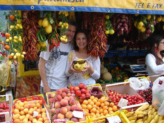 Guemar Travel: Larry & Nancy with Giuseppino