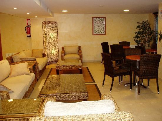 Hotel Troncoso: Sala de estar