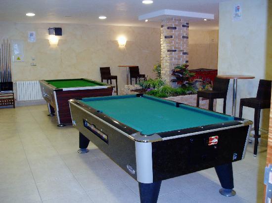 Hotel Troncoso: Sala de juegos