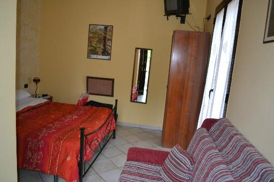 B&B Sotto il Vulcano: Our room