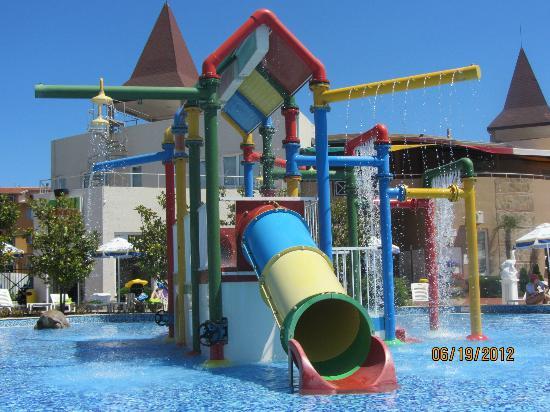 Aqua Nevis Clubhotel: Aqua park toddler section
