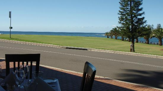 Seabreeze: View from our table