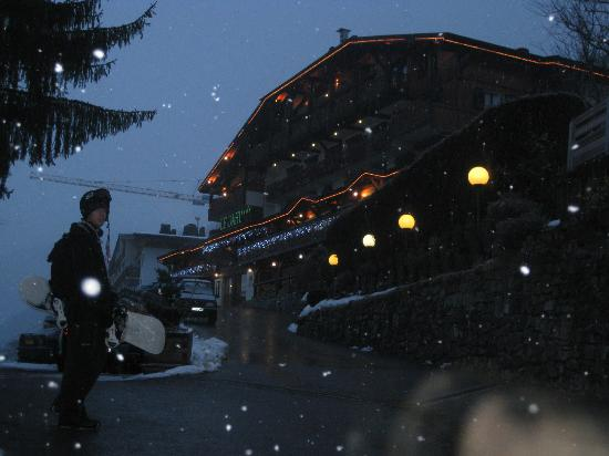 Hotel Le Dahu: Heading back
