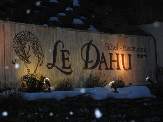 Hotel Le Dahu: Out front