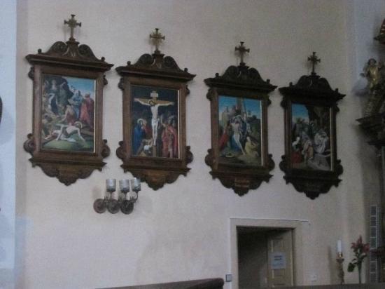 Church of St. Bartholomew: calvary