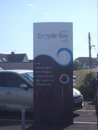 Unison Croyde Bay Holiday Resort: Entrance