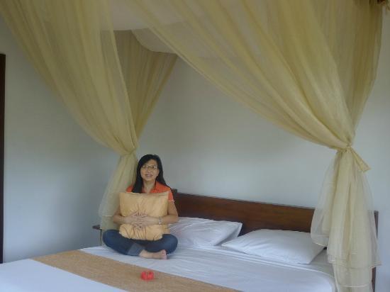 Subak Tabola Villa: nice mosquitoe netting