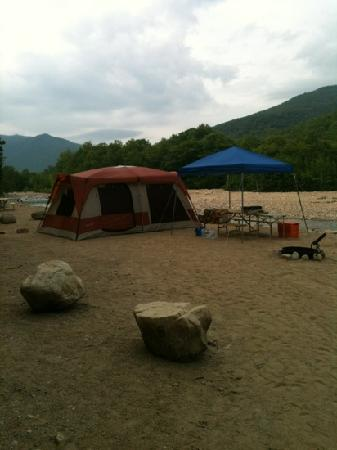 Crawford Notch General Store and Campground: Site 43