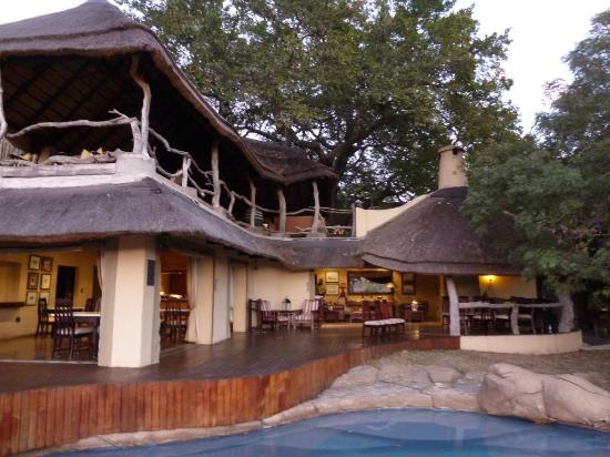 Jock Safari Lodge: Dining area and bar