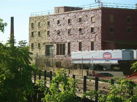 Genesee River's High Falls: Brewery