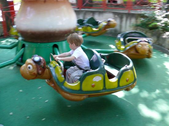 Familypark: For 2 y.o. - slow turtles :-)